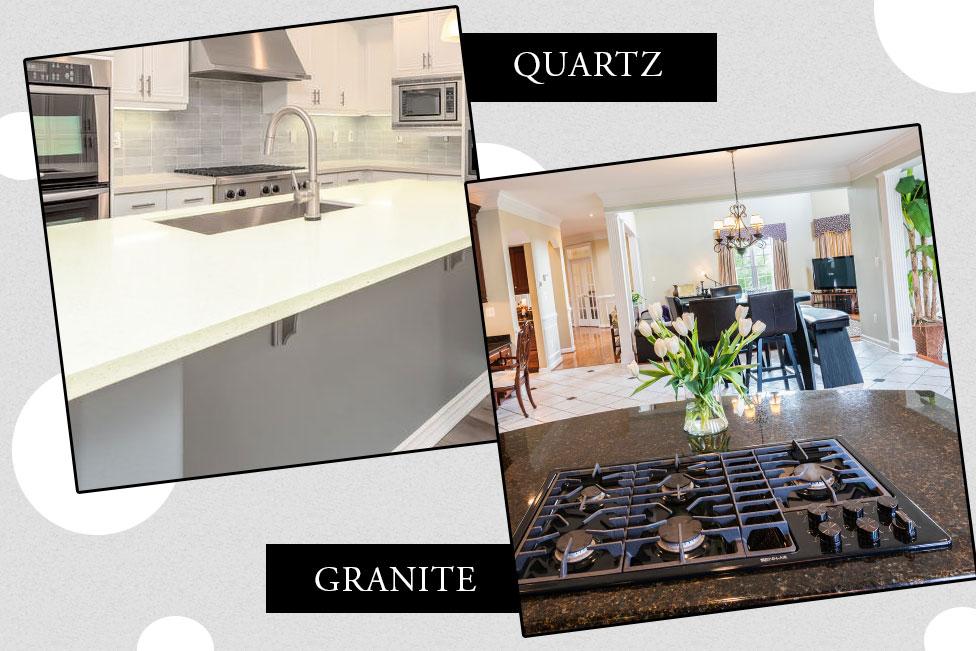 exporter or quartz kitchen countertop