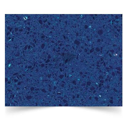 azulite quartz stone