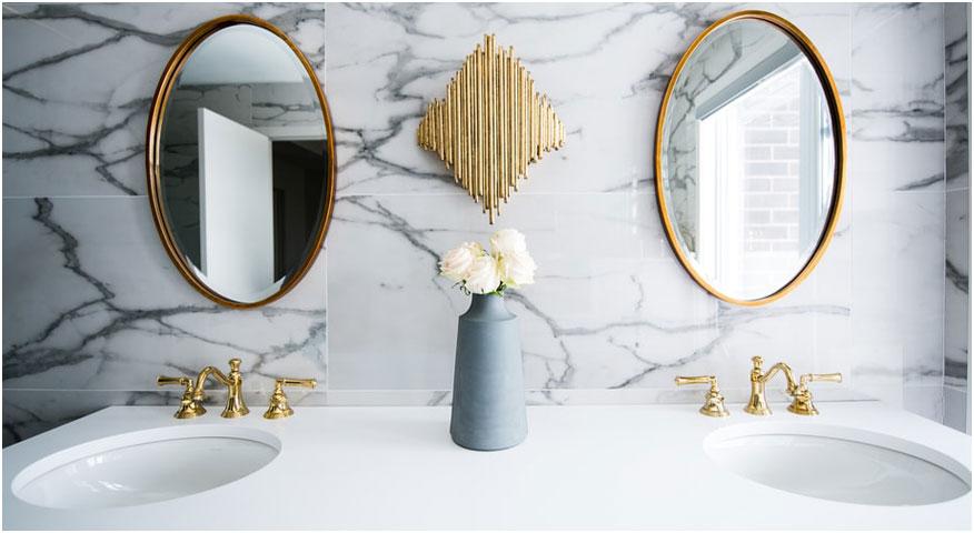 Quartz bathroom Vanity
