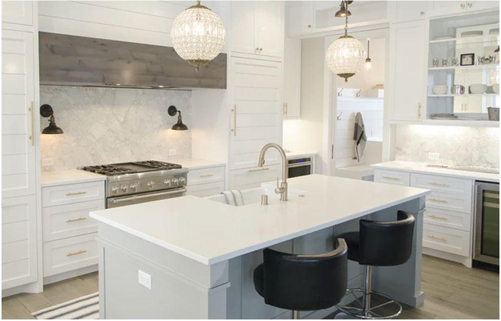 Quartz Kitchen Interior