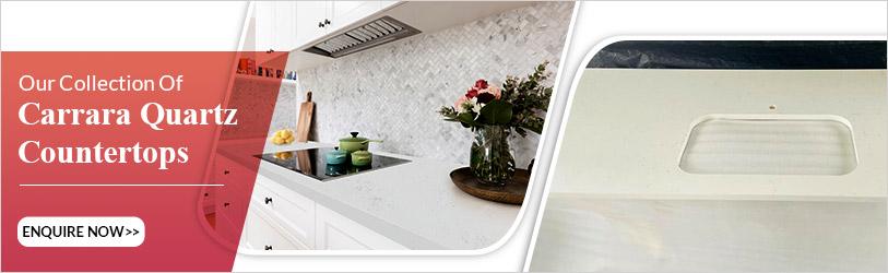 carrara quartz countertops and bath room vanities