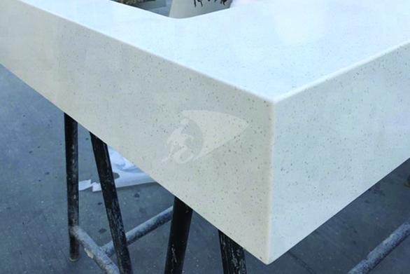 mitered edge countertops by imperial vanities